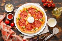 Pizza burrata image