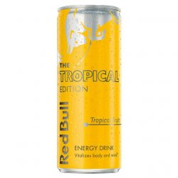 Red Bull Tropical 250ml. image