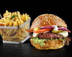 American Burger Menu image