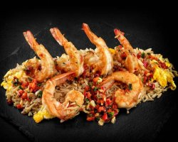 Butterfly Shrimps Martini image