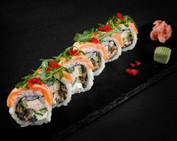 Salmon Majestic (Sushi Roll) image