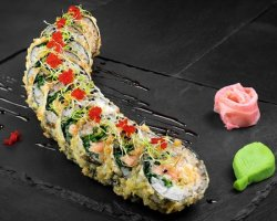 Salmon Tempura (Sushi Roll) image