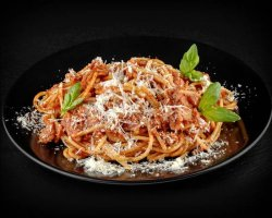 Spaghetti Amatriciana image