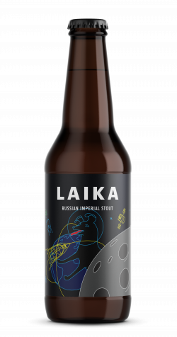 Laika - Russian imperial stout 330ml