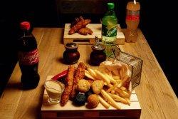 Bucket Crispy, Cheese bites and Fries image