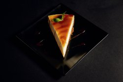 Cheese cake Salted caramel image