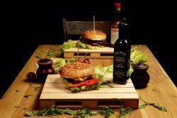 Happy Jack Daniel's Burger image