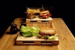 Happy Vegie Burger image