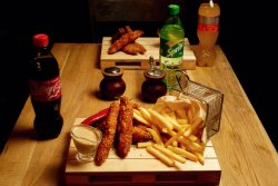Meniu Crispy, Fries and Coke image