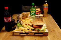 Meniu Happy Camembert Burger & Coke image