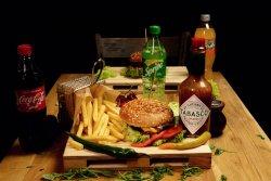 Meniu Happy Fire Burger & Coke image