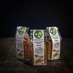 Crakers cu semințe