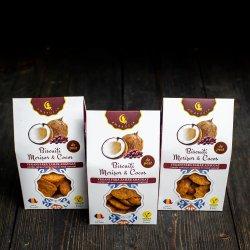 Biscuiți cocos & merișoare F.Z.