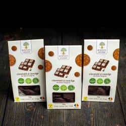 Biscuiți ciocolată și coacăze