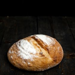 Pâine albă cu usturoi