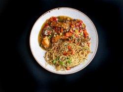 Păstrăv nepalez cu noodles image
