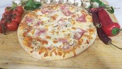 Pizza bacon e funghi image
