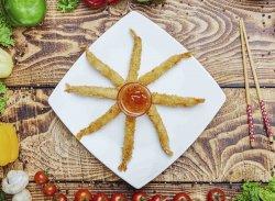 Creveti Torpedo pane+sos dulce-picant image