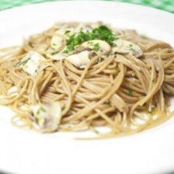 Spaghetti Prosciutto Funghi