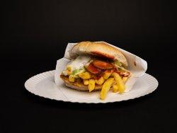 Hamburger vită Black Angus image
