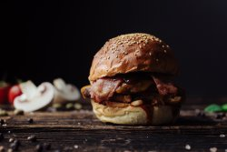Bbq Onion Burger image