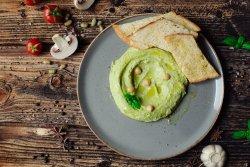Hummus cu busuioc image