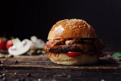 Smoken Fire Burger image