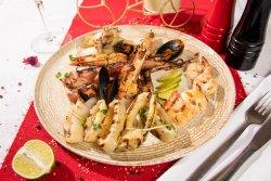 Mix Fructe de mare grill cu sos a la grec image