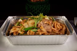Stir Fried Spicy Noodles with Beef  image