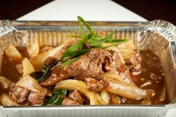 Stir fried Beef in Oyster Sauce image