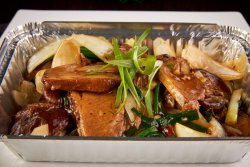 Stir fried Duck in Oyster Sauce image