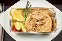 Thai Fried Rice with Beef image