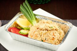 Thai Fried Rice with Chicken image