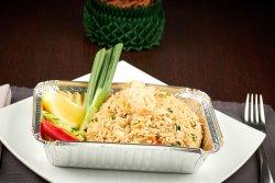 Thai Fried Rice with Prawn  image