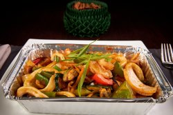 Stir Fried Seafood in Sweet Chilli Paste image
