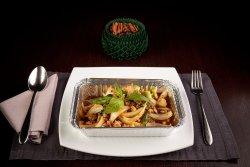 Stir Fried  Pork with Basils image