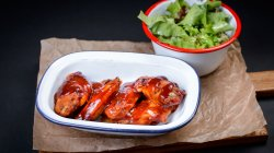 Sticky chicken wings image