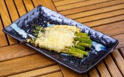 Cheesy Asparagus image