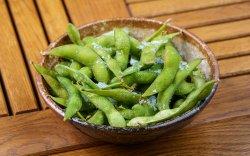 Edamame Beans with sea salt Flakes image