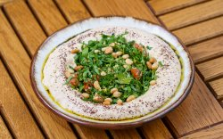 Hummus With Tabbouleh image