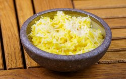 Lemongrass, Cinnamin and Aniseed infused Rice image
