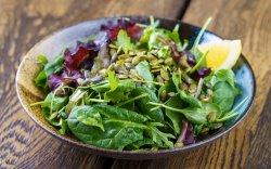 Mixed Green Leaves Salad image