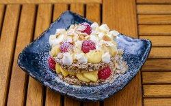 Our Famous Mitzu: Crunchy Walnut Meringue with Vanilla Cream image