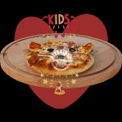 Pizza copii - pisicuță + Cappy Pulpy image