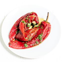 Grilled Red Peppers 200 gr image