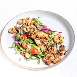 Shrimps & Calamari Salad 200 gr image