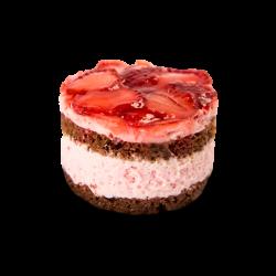 Prajitură cu căpșuni image