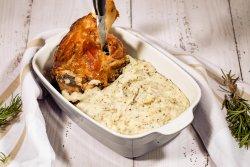 Ciolan si piure de cartofi cu tartufo + Birra Moretti 660ml image