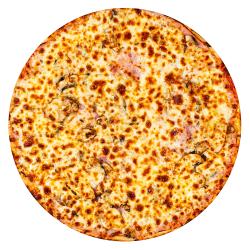 Pizza Prosciutto e Funghi image