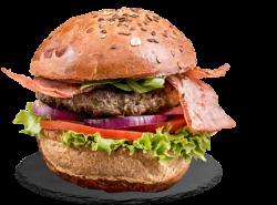 Bacon BlackAngus Burger image